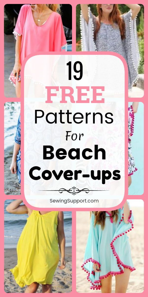 Beach Dress Cover Up And Wrap Patterns Tutorials And Diy