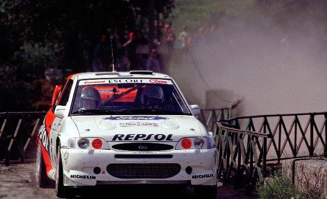 Carlos Sainz. Rallye Tour de Corse 1997.