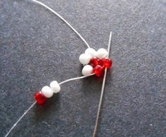 Heart Shaped Potawatomi Chain Stitch
