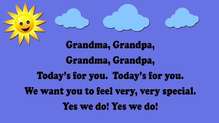 Grandma, Grandpa (Grandparents Day Song / aka Are You Sleeping?) …