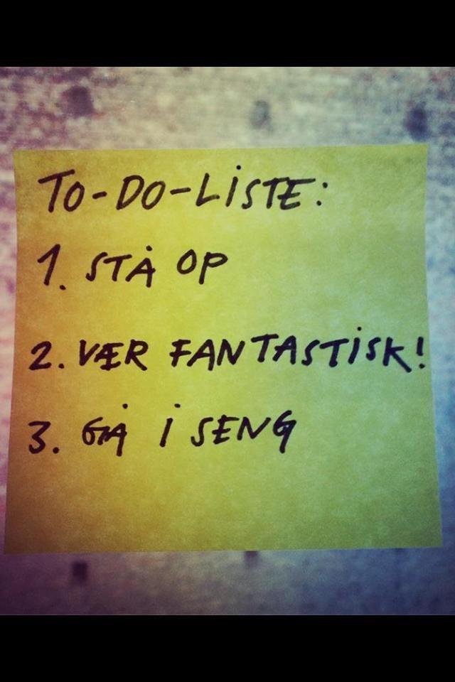 Ganske enkelt !!! Ha en fantastisk dag!!!