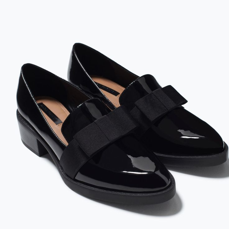 MOCCASIN WITH BOW-Shoes-TRF-SHOES & BAGS | ZARA United States