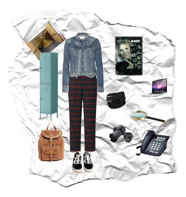 High School Detective by sapphirereport on Polyvore featuring polyvore, fashion, style, rag & bone, Uniqlo, Vans, ASOS, GE and Nikon