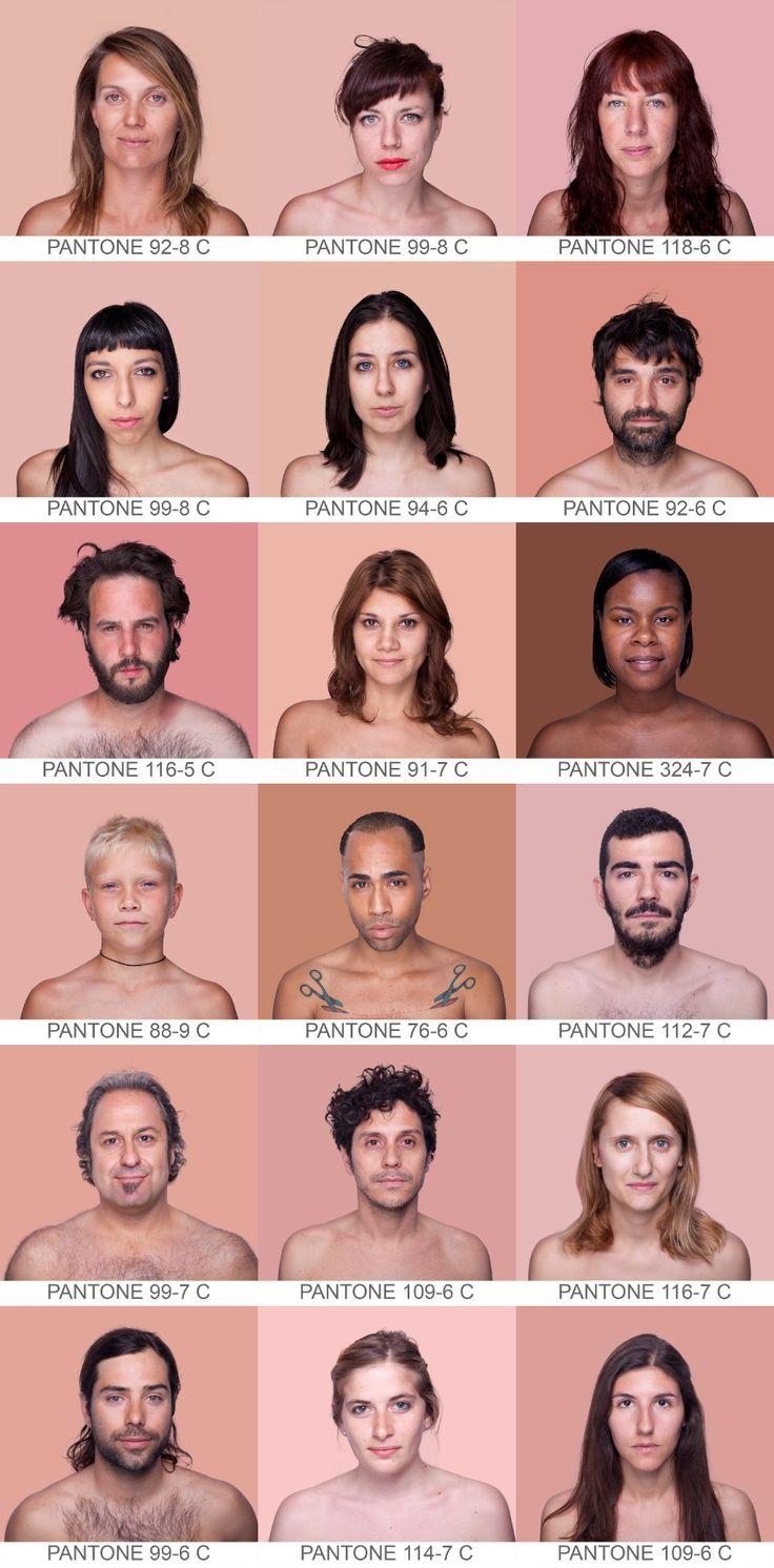 :: Angelica Dass, Humanae ::pantone photobooth