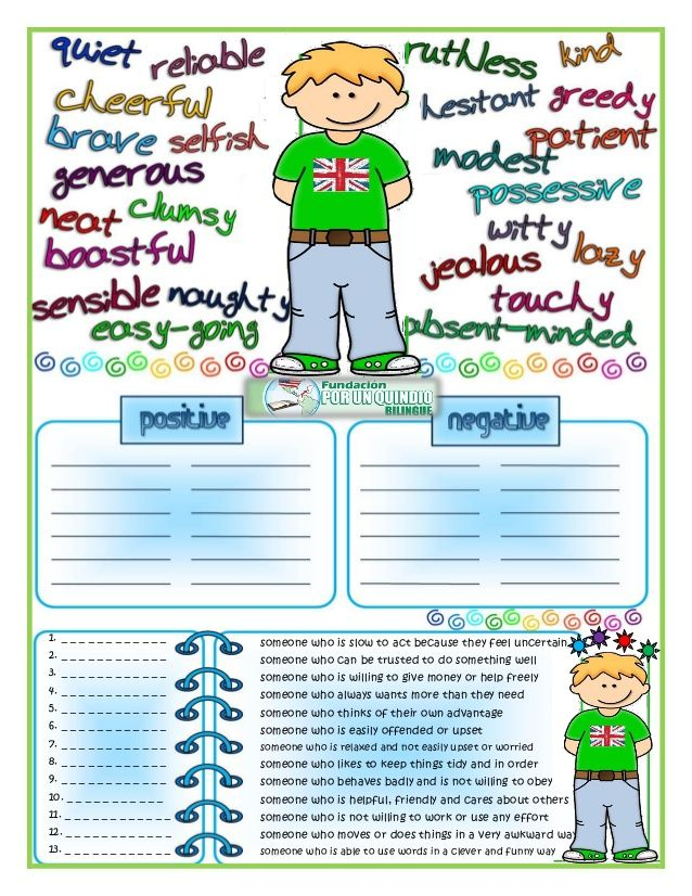 adjectives to describe personality - Google Search