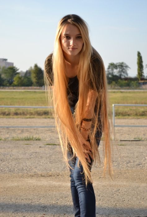 Very Long Hair Tumblr Very Long Hair Hair Pinterest Ensaio