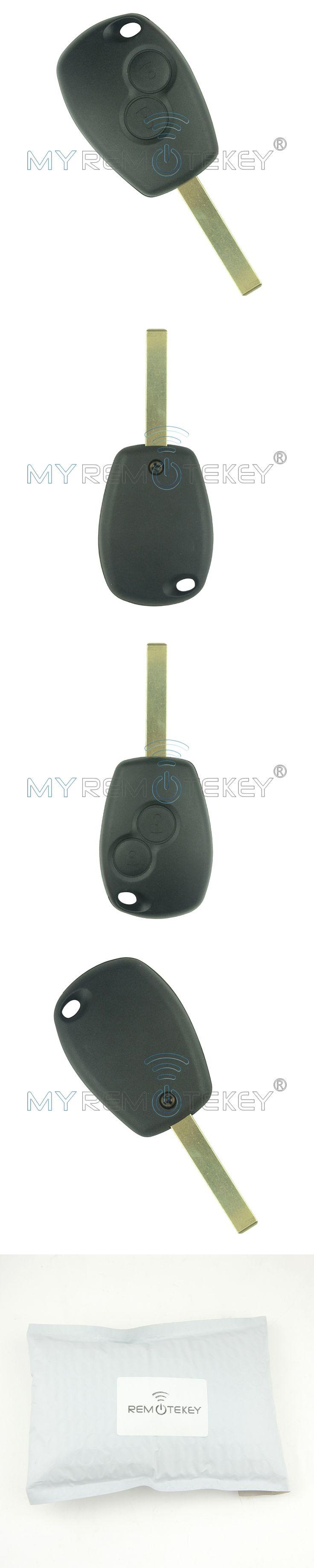 Remote car key for Renault Clio Kangoo Master Modus Twingo 2006 2007 2008 2009 2010 2 button VA6 433 mhz PCF7947 remtekey