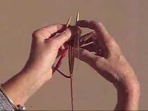 HOW TO KNIT ON CIRCULAR NEEDLES VIDEO