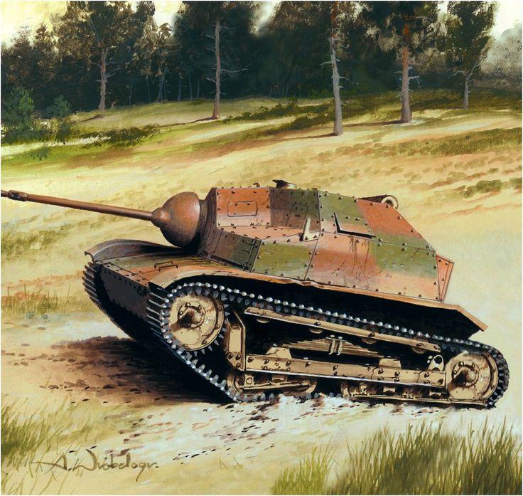 TKS (20mm) Tanquette da ricognizione dela 10ª Brigata di Cavalleria (motorizzata). Polonia, settembre 1939