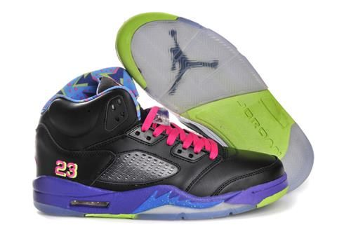Air Jordan 5 Two-Tone High Black Purple $95.00 jordans for cheap http://www.santamariadelpilar.org