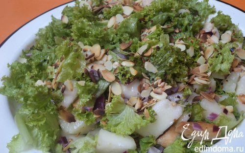Салат из курицы с дыней | Кулинарные рецепты от «Едим дома!»