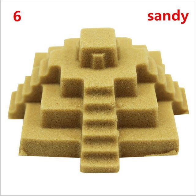 500g Hot Sale Gift DIY Beach Motion Sand Power Magic Super dynamic sport Sand Mars Space Sand coloured sand Children Toys