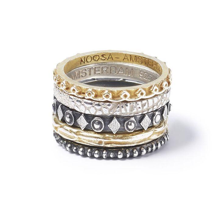NOOSA Petite Symbolik Ring Masai Silber in Uhren & Schmuck, Echtschmuck, Ringe   eBay!
