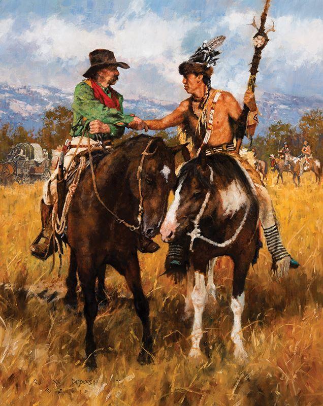 Днем рождения, картинки ковбои и индейцы
