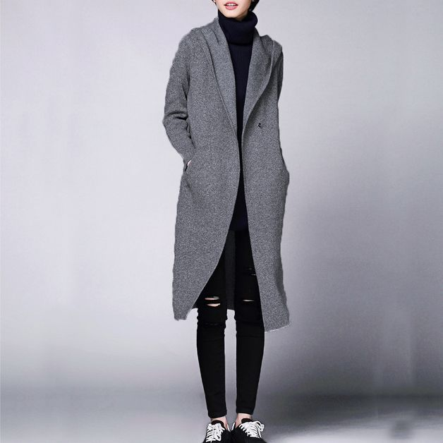 via en.dawanda.com Cardigans – Women Wool Knitwear Cardigans Coat – a unique product by Yuki-Hao888 on DaWanda