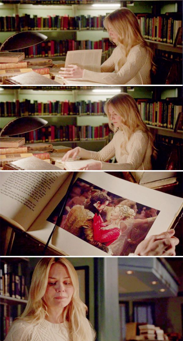 "Emma looking at the Book & remembering her Dance with Killian! She Misses Him!! Killian Jones & Emma Swan - 5 * 21 ""Last Rites"" #CaptainSwan"