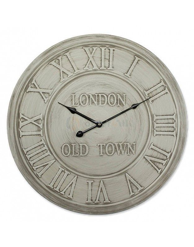 "Metallic Wall Clock ""LONDON""  60 cm"