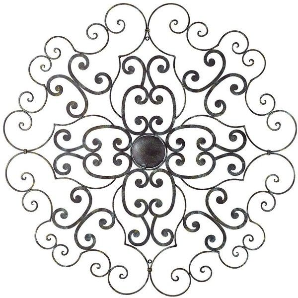 Round Black Wall Decor : Best images about metal wall art on olivia