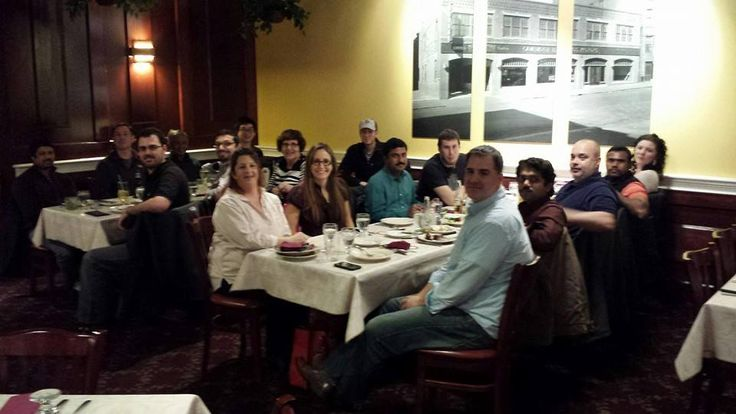 Some our team at a holiday party at Gauchos Steakhouse. Our offices our closed until Monday. #HappyHolidays!