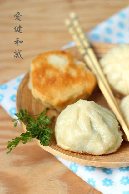 tajwańskie bułeczki z patelni