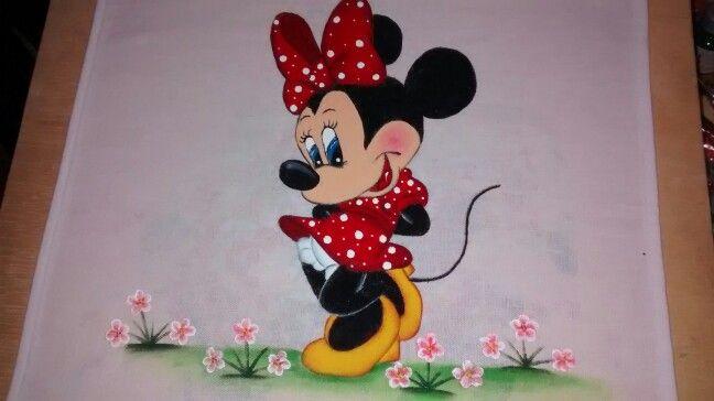 Desenhos Da Minnie Para Pintar Em Tecido: Riscos Pintar Tecidos