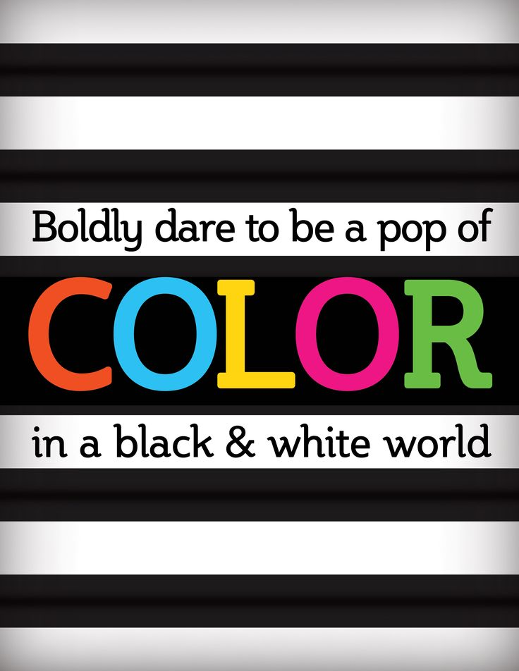"PINK IS ""IN""!!!!!   YES!!!!: Colour, Quotes, Boldly Dare, Black And White, Be Bold, Colors, Black White, Pop"