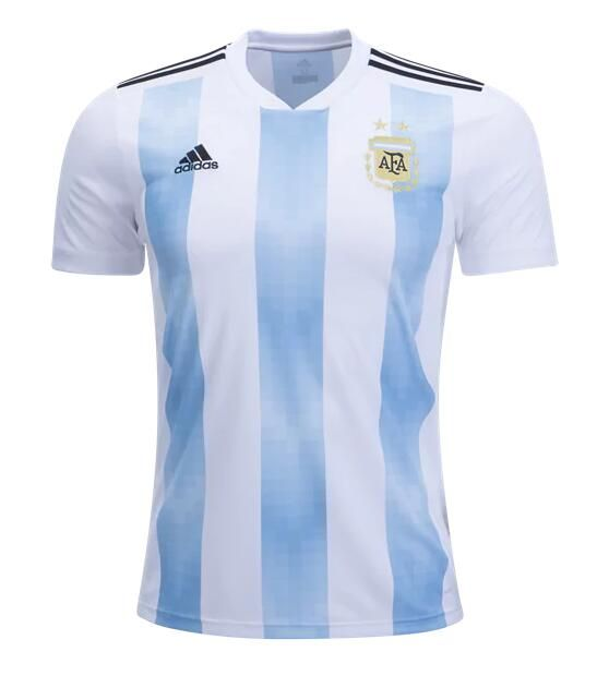 Comprar Camisetas de fútbol baratas. CAMISETA ARGENTINA PRIMERA EQUIPACIÓN  MUNDIAL RUSIA 2018 f730b13426cdd