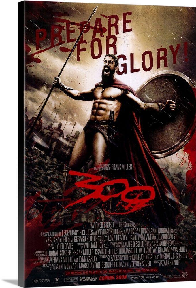 300 2007 In 2021 300 Movie Movie Posters Frank Miller