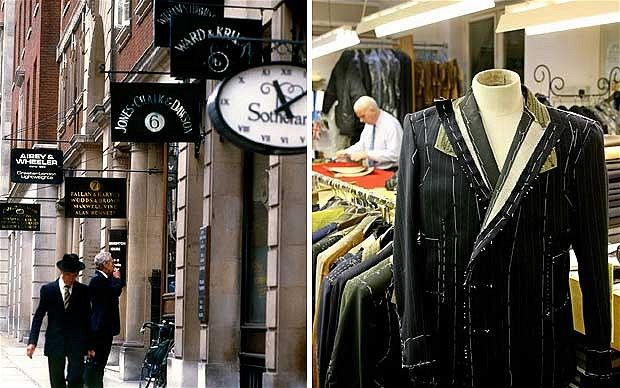 Synonymous with men's style, Savile Row in London has been a bastion of bespoke tailoring for almost 200 years.