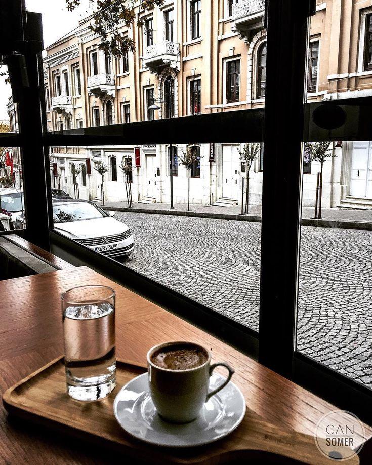 ☕️ Turkish coffee - Akaretler,Istanbul // Photography by cansomer ☕️ #turkishcoffee #akaretler #istanbul