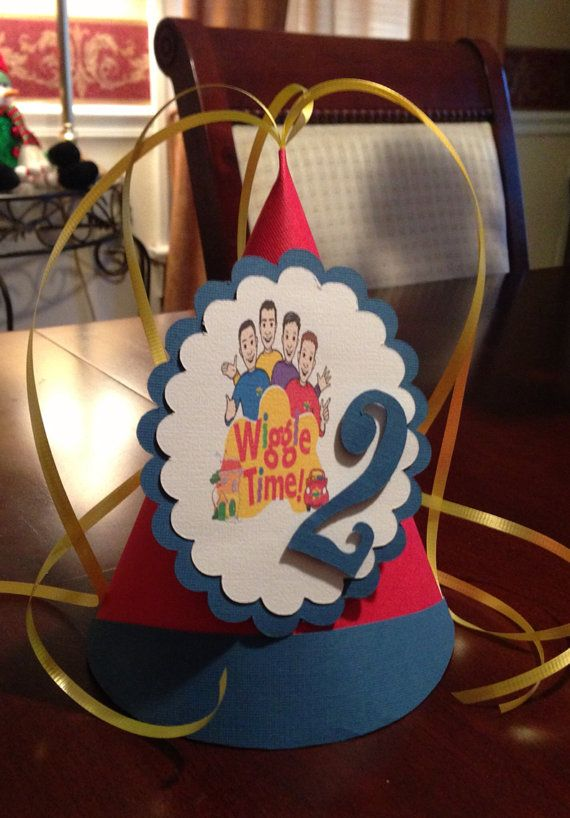 The WIGGLES Birthday Party Hat by YourPartyStore on Etsy, $5.00