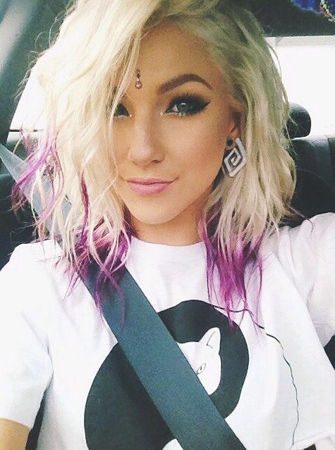 Blonde hair with pink the best blonde hair 2017 hot pink highlights in short blonde hair google search s pmusecretfo Images
