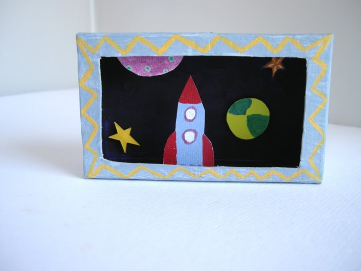 Tissue Box Diorama Tissue Box Art Diorama Diy Crafts