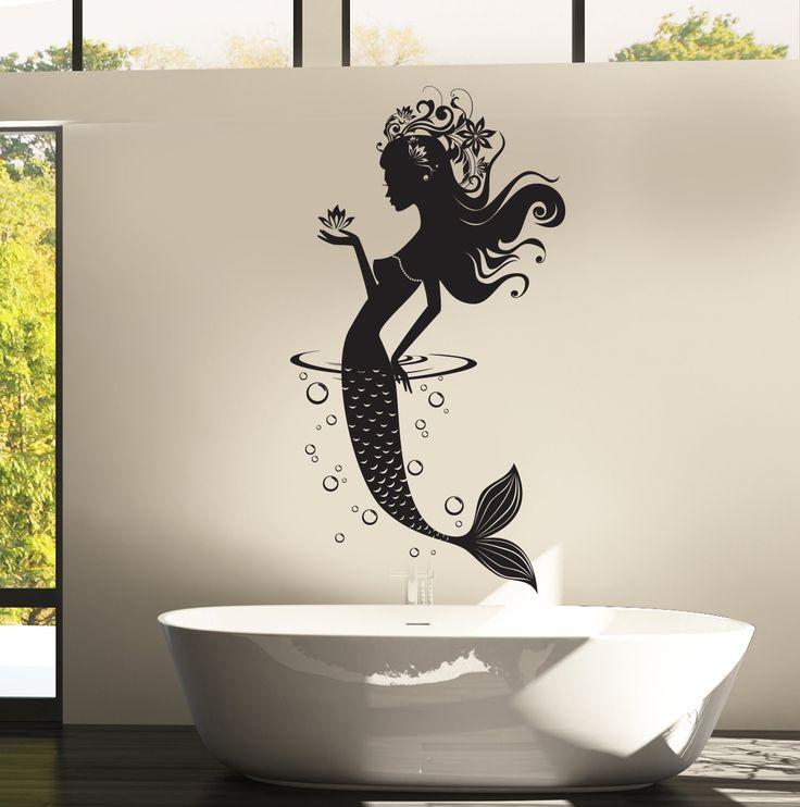 25 best Mermaid wall decals ideas on Pinterest Little mermaid