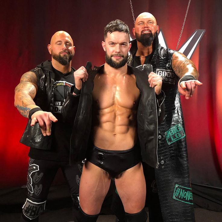 Finn Balor and Gallows & Anderson