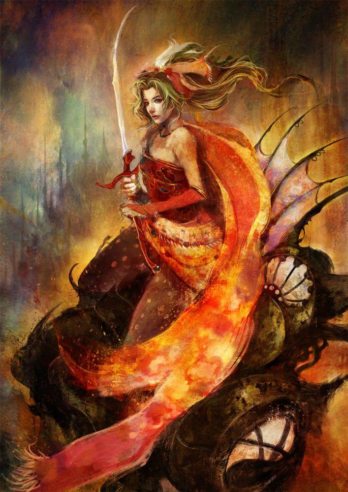 Final Fantasy VI's Terra by Muju on deviantART (http://muju.deviantart.com/)
