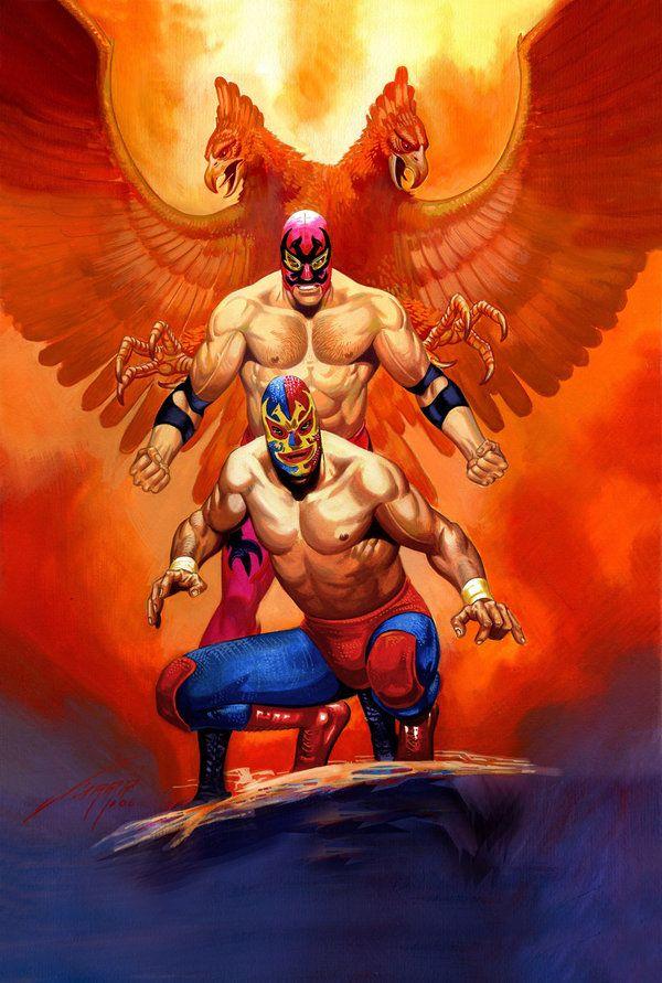 Resultado de imagen para tinieblas luchador wallpaper