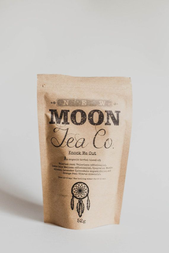 Knock Me Out Organic Herbal Sleep Aid Tea  Loose by NewMoonTeaCo