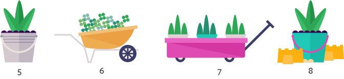 container gardening ideas 5-8