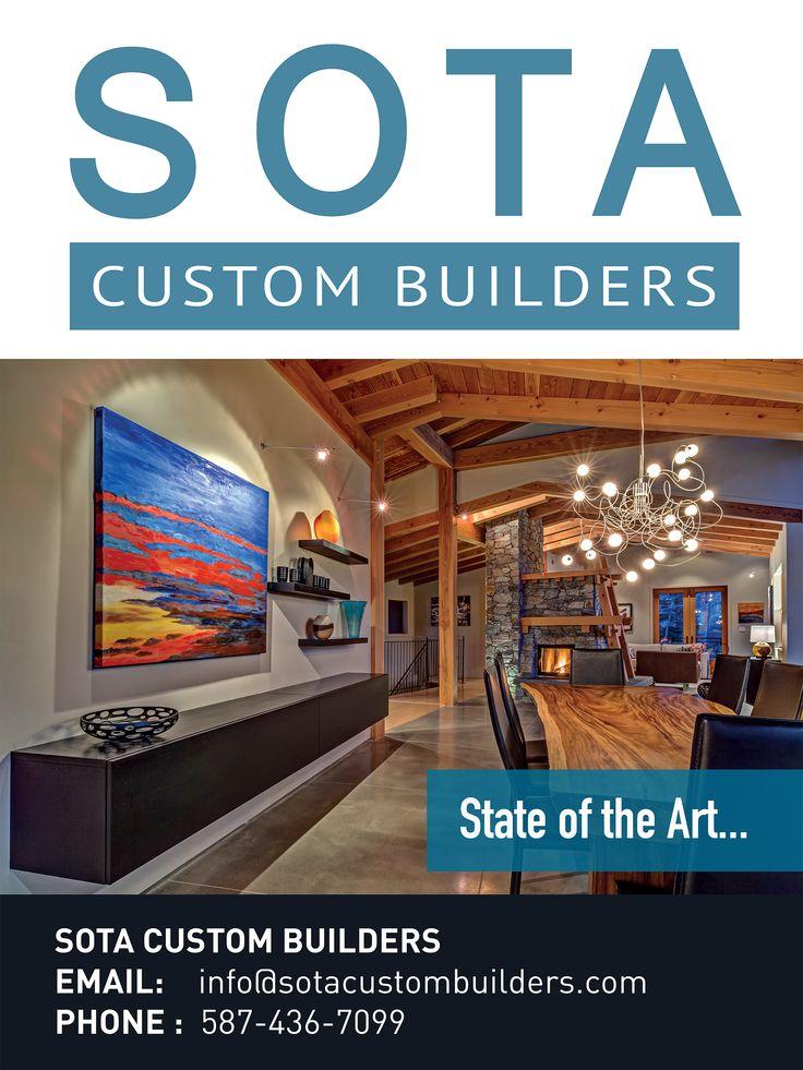SOTA Custom Builders Poster Design