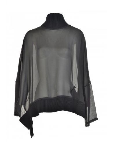 ANN DEMEULEMEESTER Ann Demeulemeester Viscose Top. #anndemeulemeester #cloth #topwear