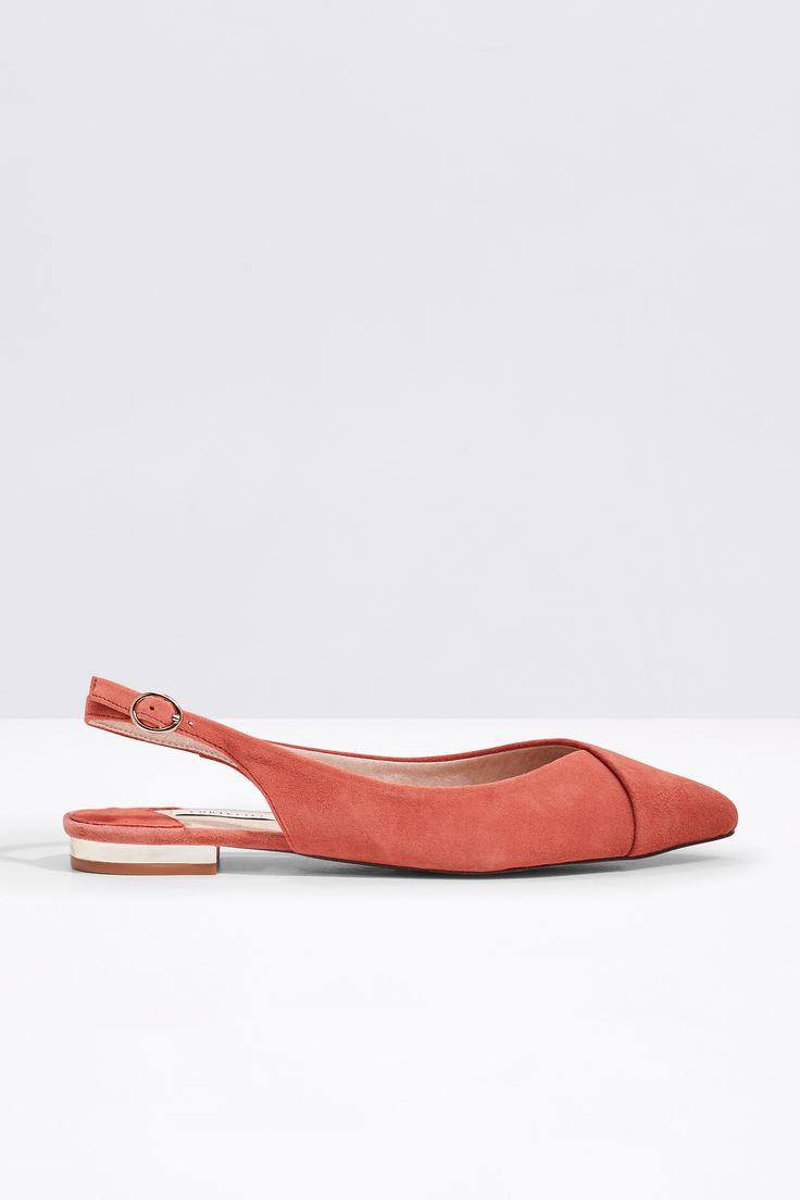 Zapato destalonado en símil piel. Tacón 1,2 cm   Zapatos   Cortefiel