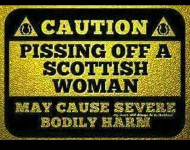 Scottish Woman