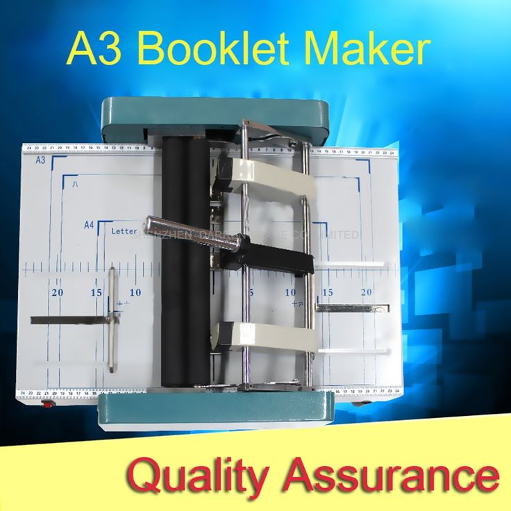 366.65$  Watch here - http://ali1hk.worldwells.pw/go.php?t=32696182403 - A3 Booklet Maker machine DC-100H,Manually booklet making machine, staple and folding machine,booklet maker