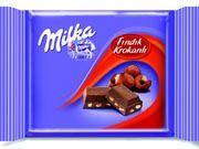Karlar da iyice eridi, bir çikolatayı hak ettiniz!   Milka Fındık Krokanlı Sütlü Çikolata  www.cikolatalimani.com
