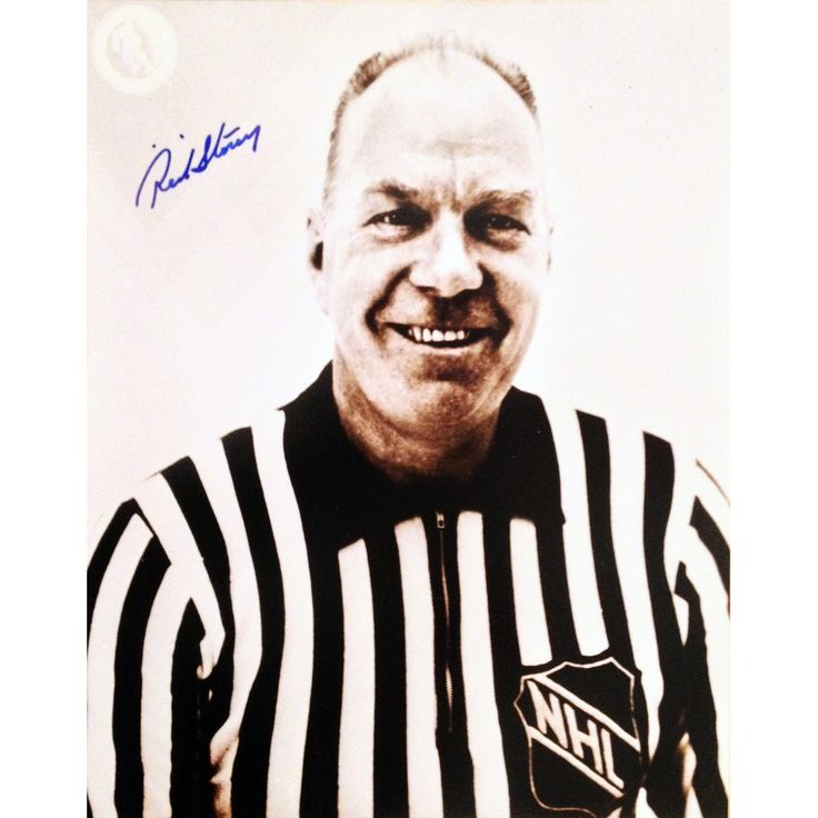 Storey Autographed 8X10 Photograph - NHL Referee