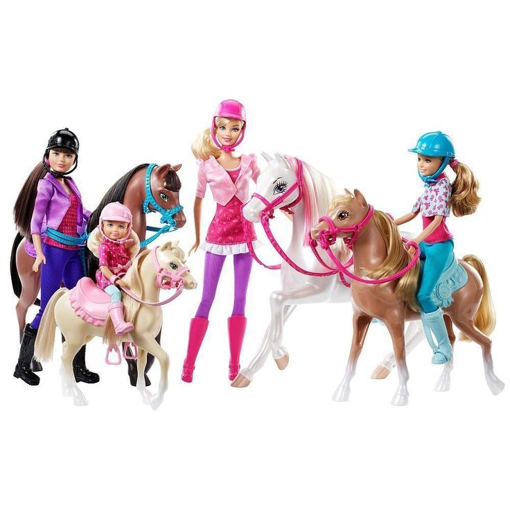 NEW! 2016 Barbie & Her Sisters In a Pony Tale Horse Adventure ~ SAME DAY SHIP! #Mattel