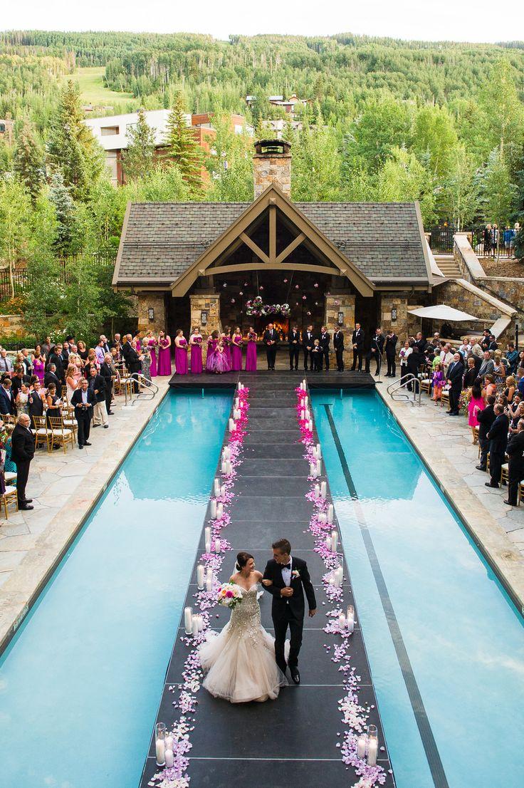 Jessica Derek S Extraordinary Wedding At The Four Seasons Vail
