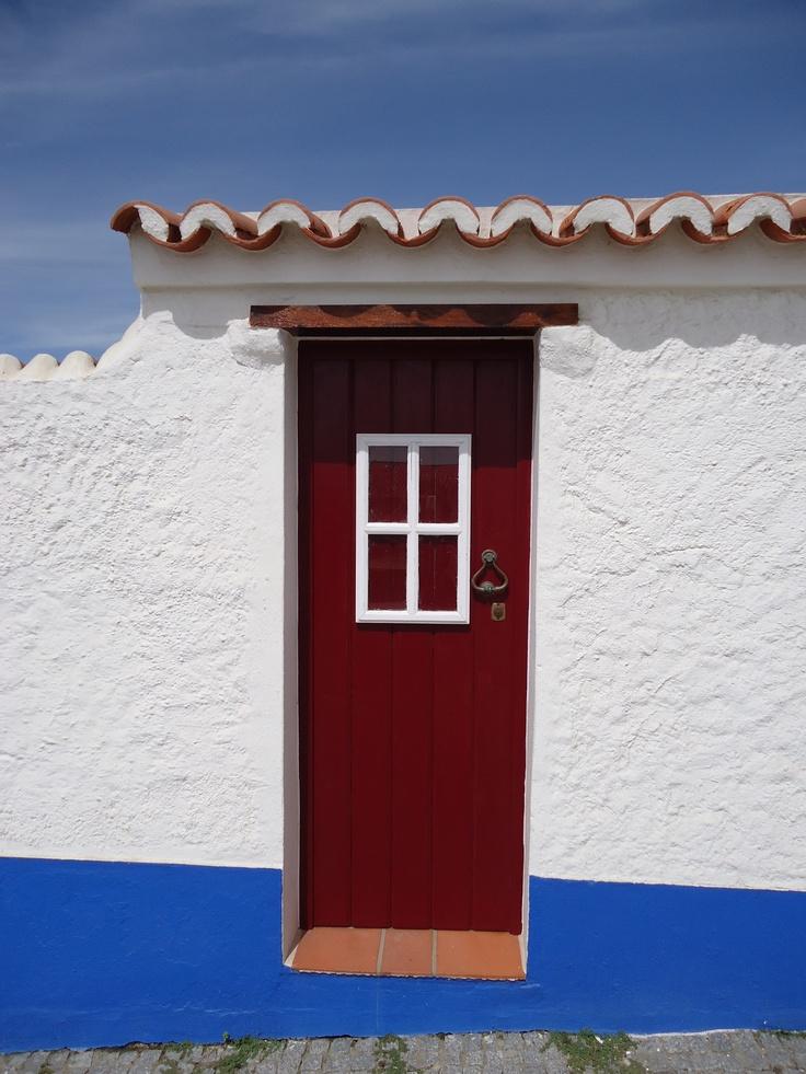 Porto CovoRabbit Hole, Doors Life, Kapılar Doors Türen, Porto Covo, Life Offering, Covo Doors, Red Doors Y, Portuguesa A Portuguese, Perfect Portal