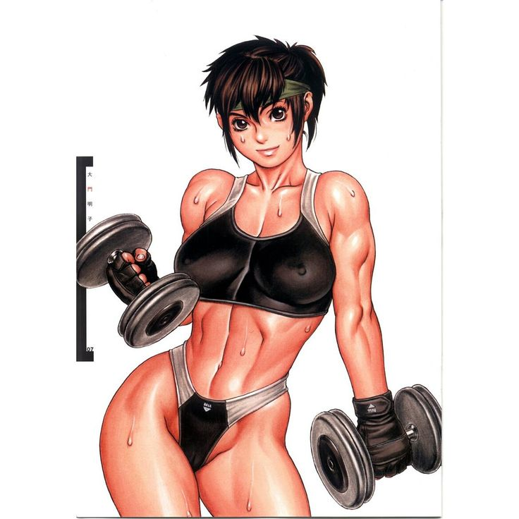 Female muscle athletic hentai